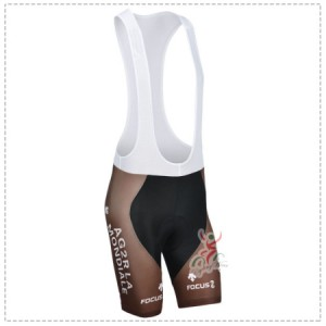 2014 Team AG2R LA MONDIALE Cycling Bib Shorts
