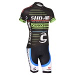 2014 Team Cannondale Cycling Kit Black