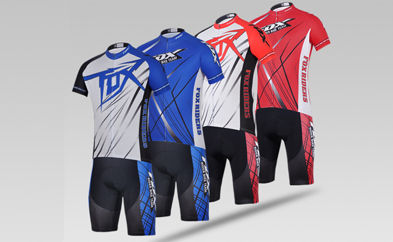 2014 Team FOX Cycling Suit
