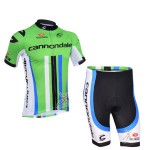 2013 Cannondale Cycling Kit Green Black