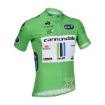 2013 Team Cannondale Pro Cycling Green Jersey