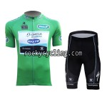 2013 Team QUICK STEP Pro Cycling Green Jersey and Shorts Kit
