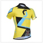 2014 Team SCOTT Cycling Jersey Yellow