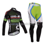 2014 Team CANNONDALE Pro Cycling Long Kit Green White