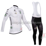 2014 Tour de France Cycling Long Bib Kit White