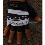 2011 Team KUOTA indeland Cycling Gloves Mitts White Black