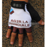 2014 Team AG2R LA MONDIALE Cycling Gloves Mitts