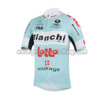 2013 Team Bianchi LOTTO Cycling Jersey Blue