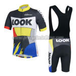 2014 Team LOOK Riding Bib Kit Colorful