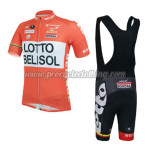 2014 Team LOTTO BELISOL Riding Bib Kit