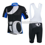 2014 Team Pearl Izumi Cycling Bib Kit Black White Blue