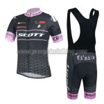 2014 Team SCOTT Riding Bib Kit Black Pink