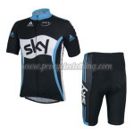 2014 Team SKY Cycling Kit Black White Blue