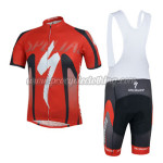 2014 Team ShanDian Cycling Bib Kit Red