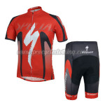 2014 Team ShanDian Cycling Kit Red
