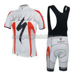 2014 Team ShanDian Riding Bib Kit White Red