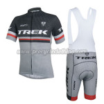 2014 Team TREK Cycling Bib Kit Black Grey
