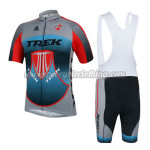 2014 Team TREK Cycling Bib Kit Grey Blue Red