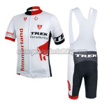 2014 Team TREK Cycling Bib Kit White Red