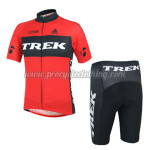 2014 Team TREK Cycling Kit Red Black