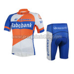 2013 Team Rabobank GIANT Cycling Kit Orange Blue