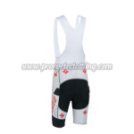 2013 Team ShanDianv Cycling Bib Shorts White