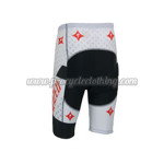 2013 Team ShanDian Cycling Shorts White