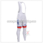2015 Team FDJ Cycling Long Bib Pants