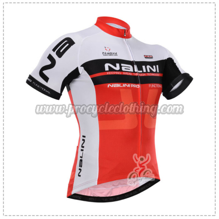 2015 Team NALINI Pro Bicycle Apparel Riding Jersey Red White ... dd0234fc3
