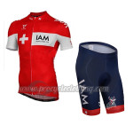 2014 Team IAM scott Cycling Kit Red