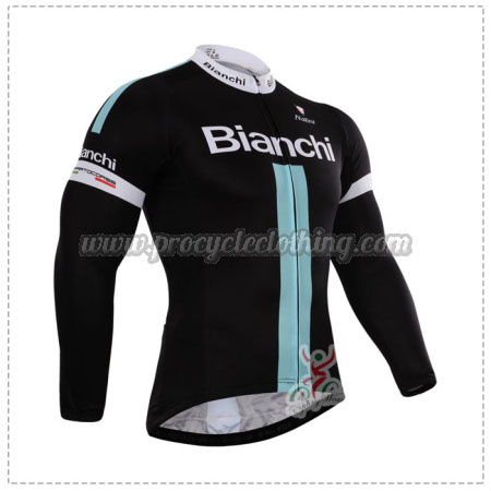 2015 Team BIANCHI Pro Riding Outfit Cycle Long Jersey  37066a9a1