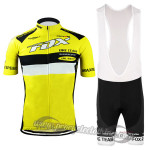 2015 Team FOX Cycling Bib Kit Yellow
