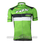 2015 Team FOX Cycling Jersey Green