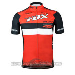 2015 Team FOX Cycling Jersey Red