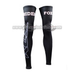 2015 Team FOX Cycling Leg Warmers Sleeves Black