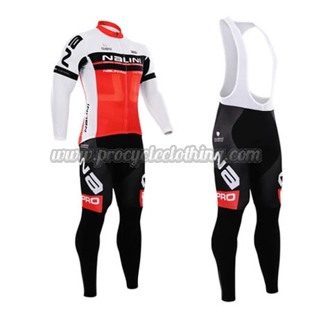 2015 Team NALINI Pro Biking Apparel Suit Cycle Long Jersey and Bib ... bf26ad44f