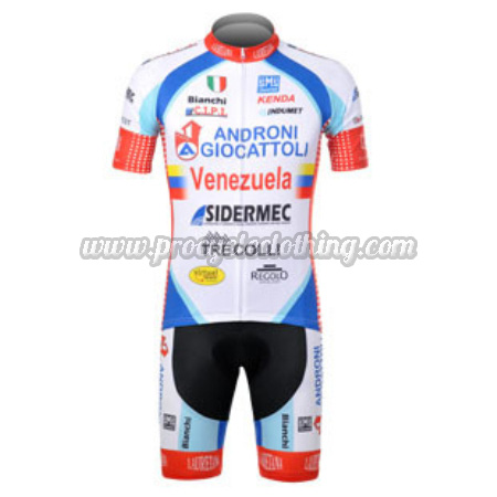 2012 Team ANDRONI Venezuela Pro Bike Clothing Set Cycle Jersey and ... c6a38b3bc