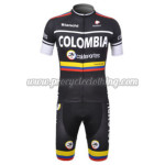 2012 Team COLOMBIA Cycling Kit Black