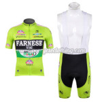 2012 Team FARNESE vini ITALIA Cycling Bib Kit Green