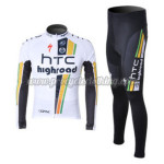 2012 Team HTC Highroad Cycling Long Sleeve Kit
