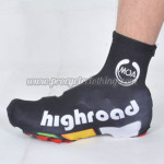 2012 Team HTC highroad Cycling Shoes Covers Black