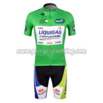 2012 Team LIQUIGAS Cannondale Cycling Kit Green
