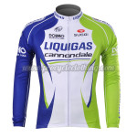 2012 Team LIQUIGAS cannondale Cycling Long Sleeve Jersey