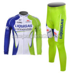2012 Team LIQUIGAS cannondale Pro Cycling Long Sleeve Kit