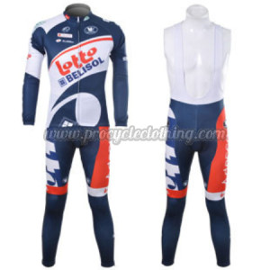 2012 Team LOTTO BELISOL Pro Biking Apparel Suit Cycle Long ...
