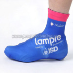 2012 Team Lampre ISD Cycling Shoes Covers Blue
