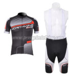 2012 Team NW Northwave Cycling Bib Kit Black