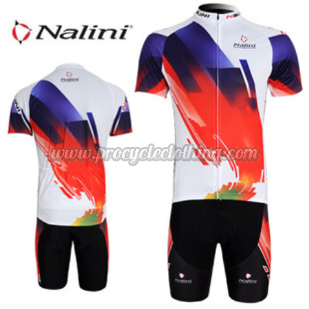 2012 Team Nalini Pro Bike Clothing Set Cycle Jersey and Shorts Blue ... 838a689e7