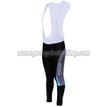 2010 ShanDian Women's Cycling Long Bib Pants Blue