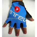 2015 Team Castelli Cycling Gloves Mitts Blue